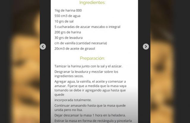 Cande Tinelli hizo medialunas (veganas) y compartió la receta