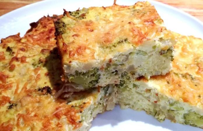 Budín de brócoli en el microondas: una receta súper rápida