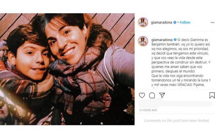 """""""El día en el que se caen las caretas"""" , la furia de Gianinna Maradona con el Kun Agüero y su novia"""