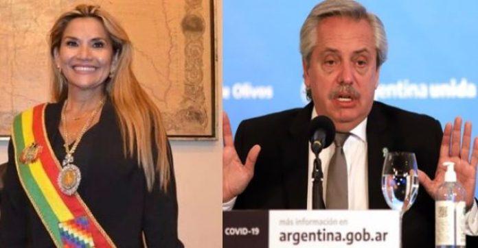 """Alberto Fernández abandonó la reunión del Mercosur cuando empezó a hablar la presidenta de Bolivia: """"Es un gobierno de facto"""""""