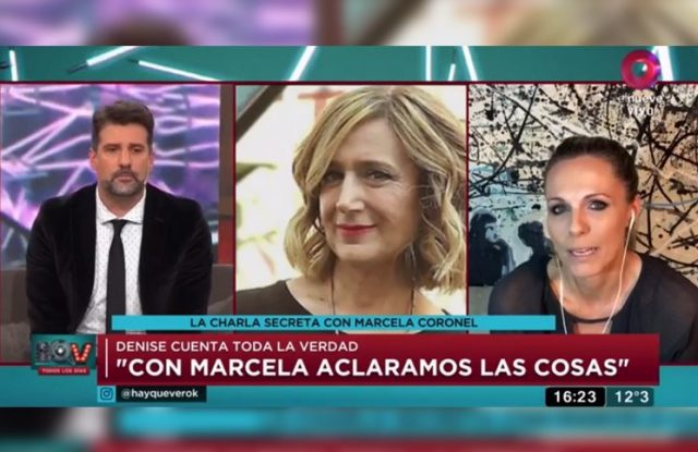 "Denise Dumas se quebró en vivo tras su pelea con Marcela Coronel: ""Esto me hizo mucho daño"""