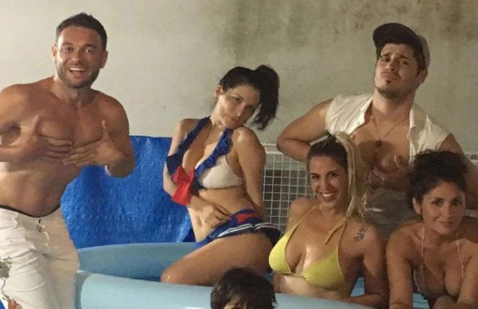 Osito de GH y Griselda Sánchez bailaron muy sensuales y con champagne en mano