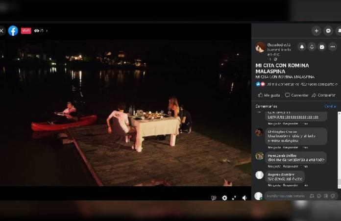 Romina Malaspina y el youtuber (que junto el millón de likes) tuvieron su cita y las redes estallaron