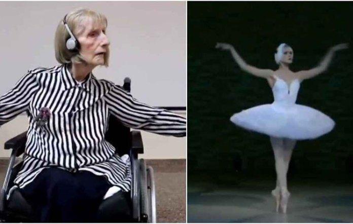 Era una estrella del ballet, sufre de alzhéimer y la reacción al escuchar 'El lago de los cisnes' fue viral