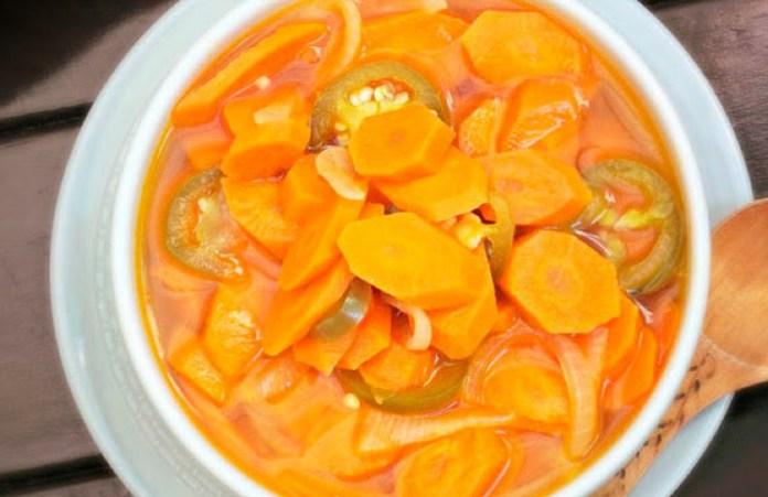 Zanahorias al escabeche: paso a paso de una conserva sabrosa y rendidora