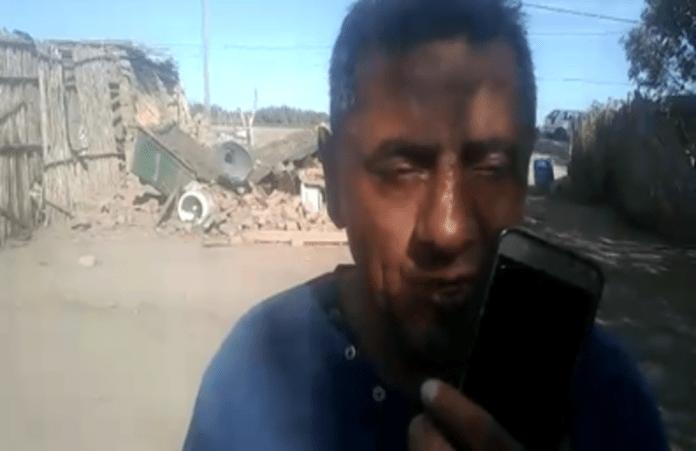 """""""Perdí hasta los remedios para las convulsiones"""": dramático testimonio de un hombre afectado por el terremoto de San Juan"""