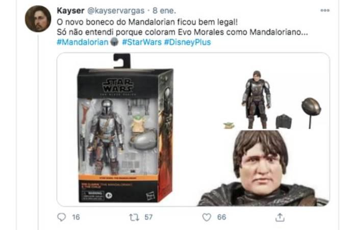 Lanzaron un juguete de Star Wars pero las redes estallaron por su (enorme) parecido con Evo Morales
