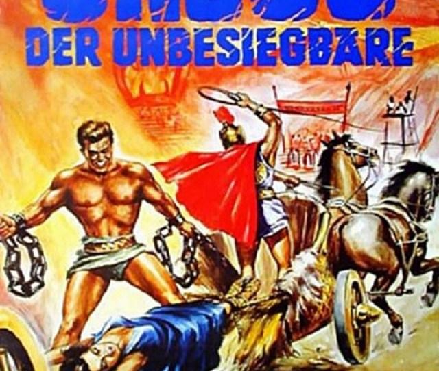Ursus Nella Terra Di Fuoco German Movie Poster