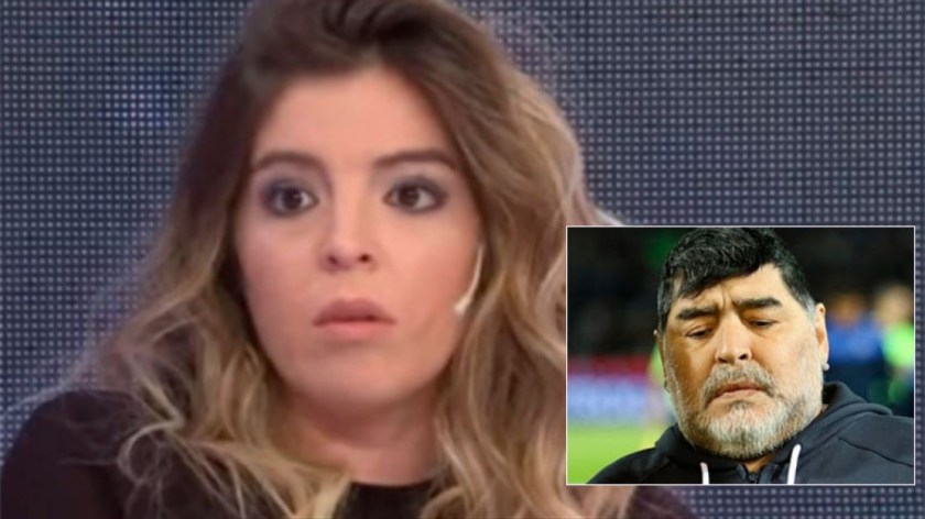 Dalma Maradona volvió a apuntar contra el entorno de Diego.