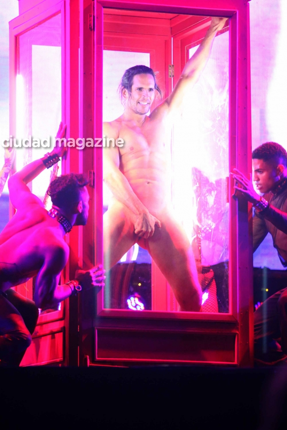 El debut súper caliente de Auto Sex, la experiencia de Muscari. Foto: Movilpress