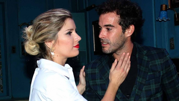 Laurita Fernández y Nicolás Cabré, en el centro de la polémica en Twitter.