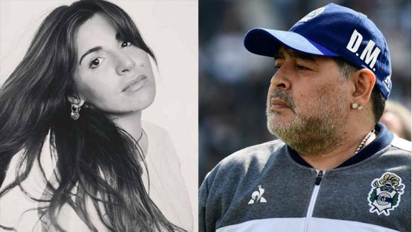 """La sarcástica broma de Gianinna Maradona cuando un fan le dijo que quiere a Diego de suegro: """"Tenés casi un plantel para elegir"""""""