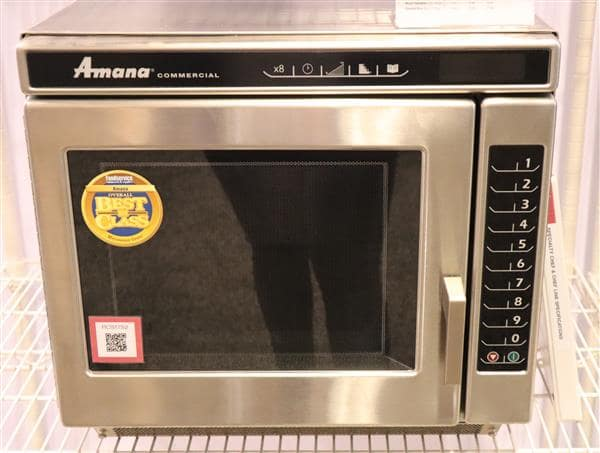 acp rc22s2 amana commercial microwave oven