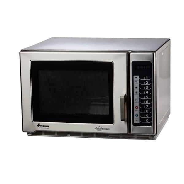 acp rfs12ts amana 1 2 cu ft 1 200 watt 5 20p certified commercial microwave oven