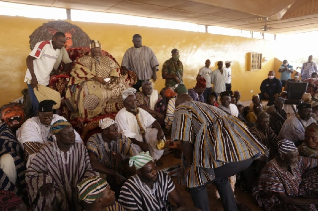 Oppong Nkrumah opens GBC's Naya Radio in Yendi 2