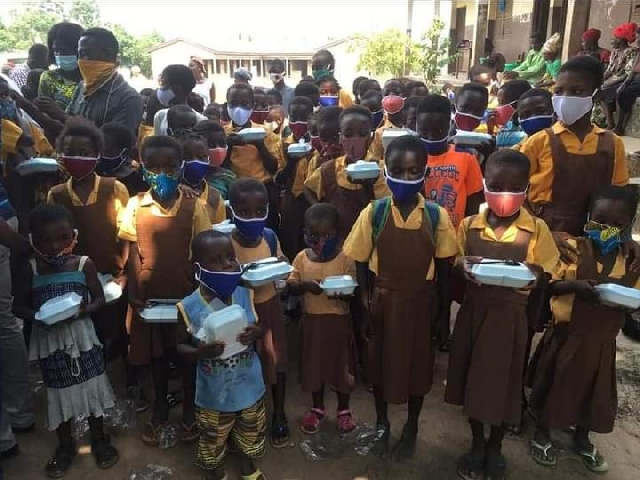 C/R: Agona East MP donates PPE, lunch to schools 4