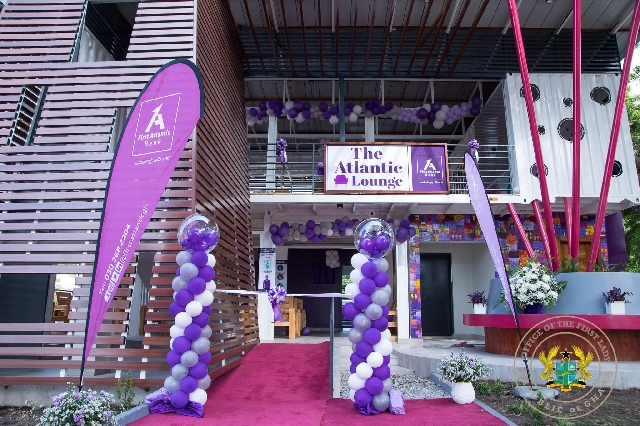 First Lady hands over waiting area for visitors at Korle Bu hospital 1