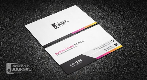 75 free business card templates that are stunning beautiful 11 unique and modern corporate business card template accmission Images
