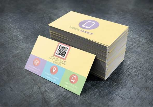 57 flat business card psd template - 57 Business Card Word Template Useful