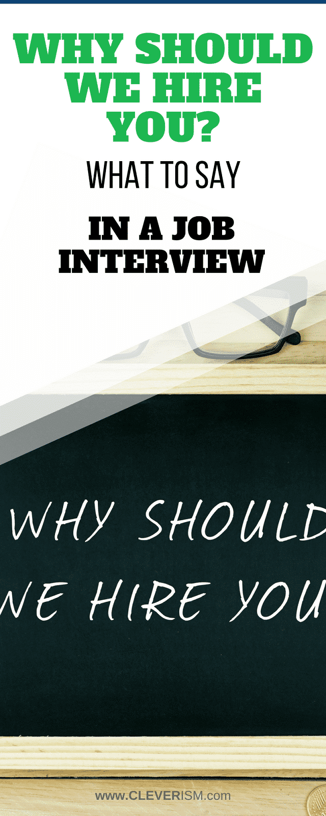 Why Should We Hire You What To Say In A Job Interview