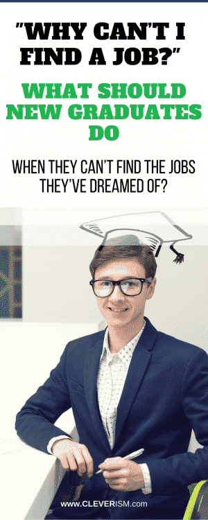 """Why can't I find a job?"