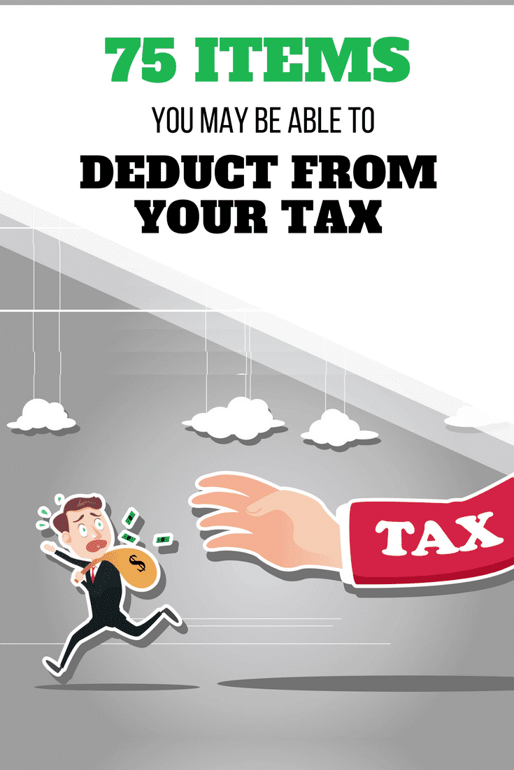 75 Items You May Be Able to Deduct from Your Tax - #Tax #ItemsToDeductFromTax #TaxDeclaration #Cleverism