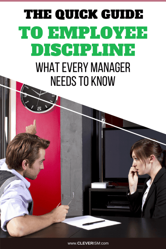 The Quick Guide to Employee Discipline: What Every Manager Needs to Know