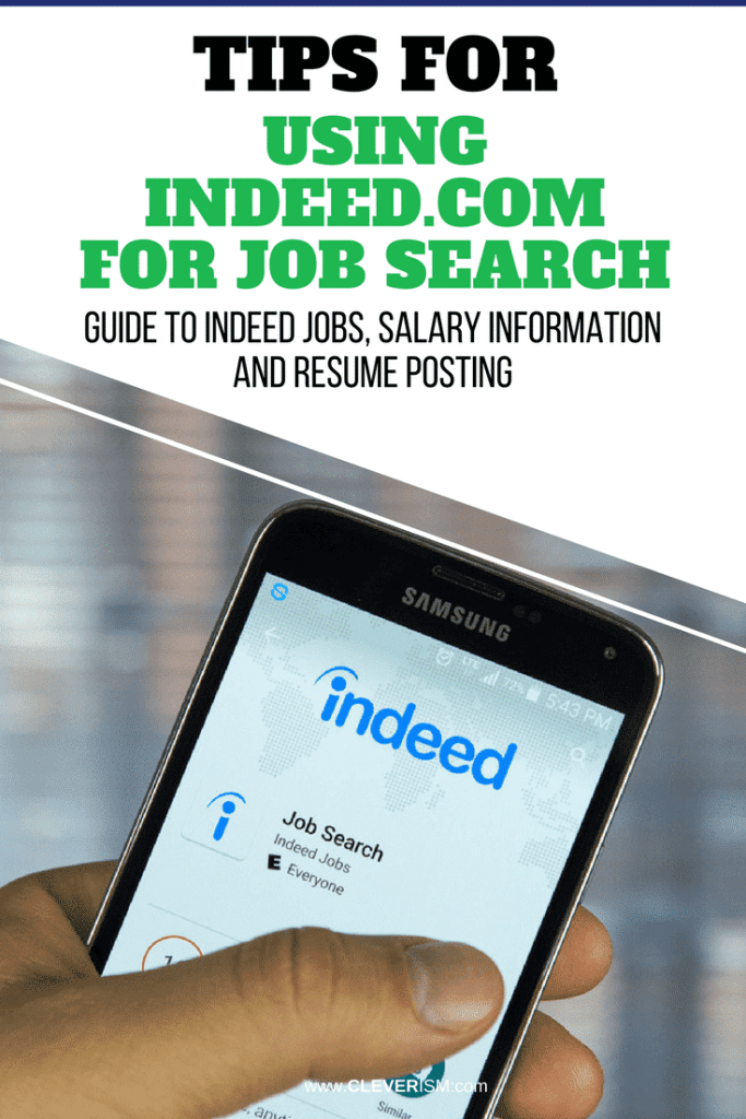 Tips For Using Indeed Com To Job Search Guide To Indeed