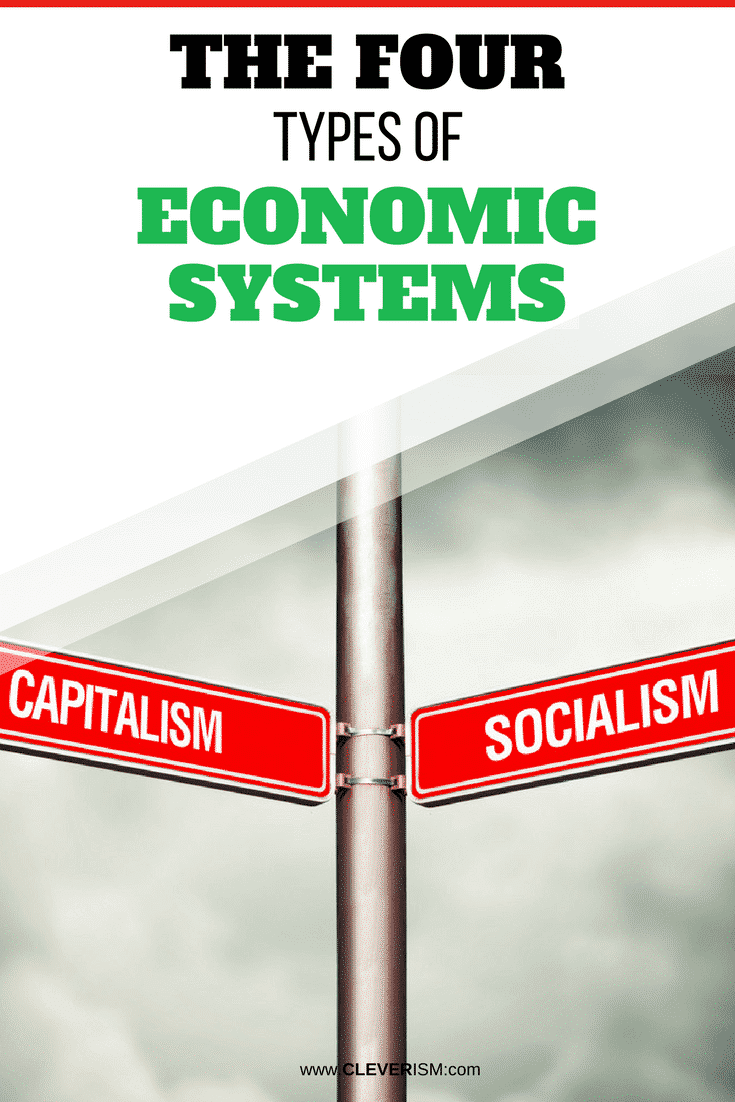The Four Types of Economic Systems -  EconomicSystem  Capitalist  Socialism   Cleverism 22bdc3869e42