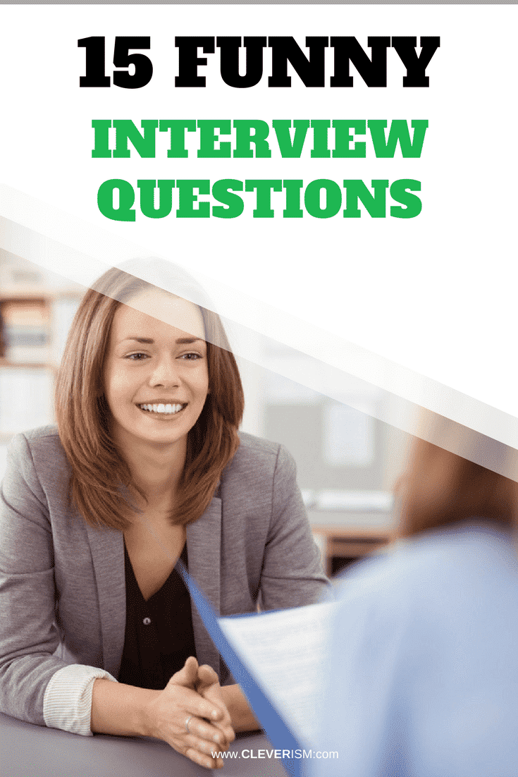 15 Funny Interview Questions - #JobInterview #InterviewQuestions #FunnyInterviewQuestions #Cleversim #JobSearch