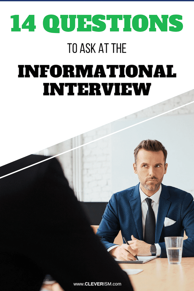 14 Questions to Ask at the Informational Interview - #InformationalInterview #QuestionToAskInInterview #JobInterview