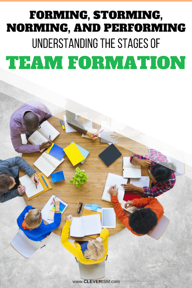 Forming, Storming, Norming and Performing: Understanding the Stages of Team Formation - #TeamFormation #TeamPerformance #Team #Cleverism