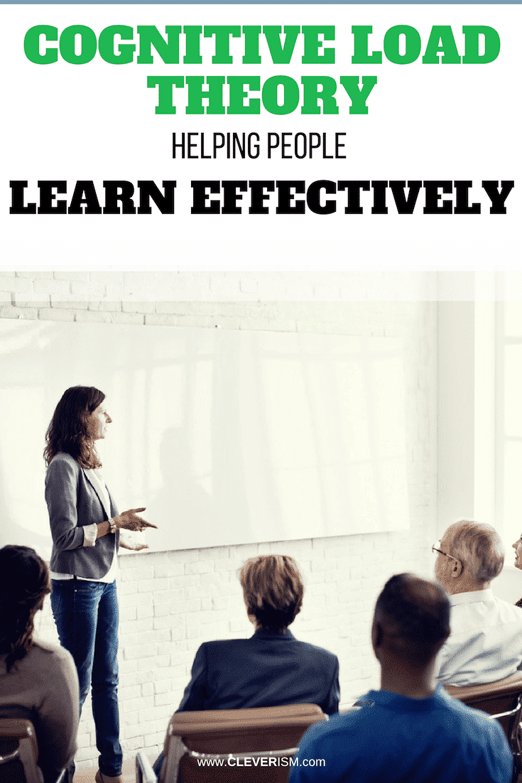 Cognitive Load Theory: Helping People Learn Effectively - #CognitiveLoad #CognitiveLoadTheory #HelpingPeopleLearnEffectively #Cleverism #EffectiveLearning