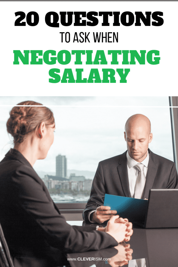 20 Questions to Ask When Negotiating Salary
