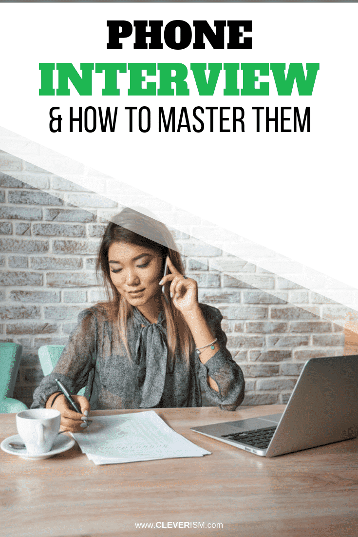 Phone Interview Questions & How to Master Them - #PhoneInterview #JobInterview #HowToMasterPhoneInterview #Cleverism