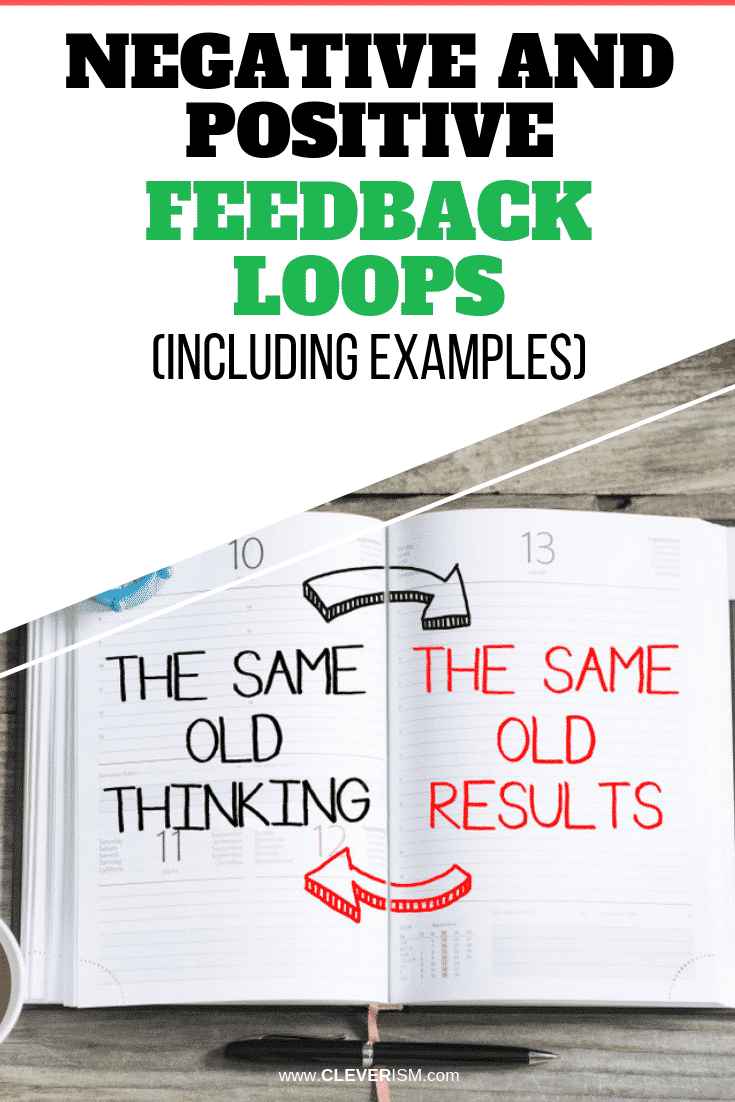 Negative and Positive Feedback Loops (Including Examples) - #FeedbackLoop #PositiveFeedbackLoop #NegativeFeedbackLoop #Cleverism