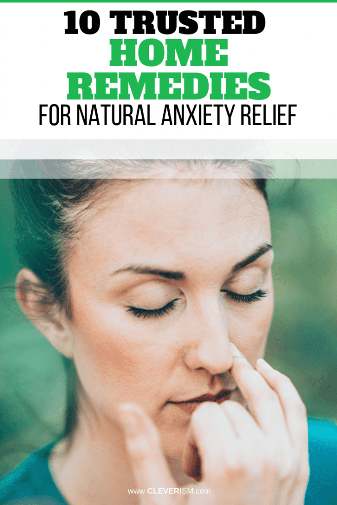 10 Trusted Home Remedies for Natural Anxiety Relief