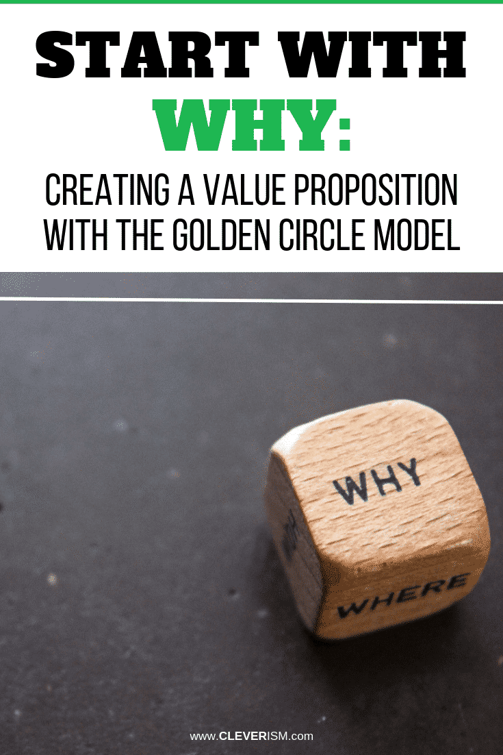 Start with Why: Creating a Value Proposition with the Golden Circle Model - #StartWithWhy #ValueProposition #GoldenCircleModel #Cleverism