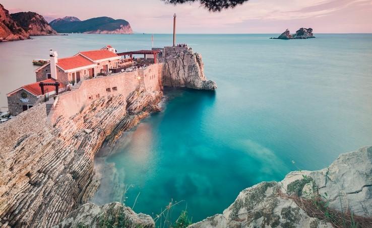 Petrovac bay, Montenegro