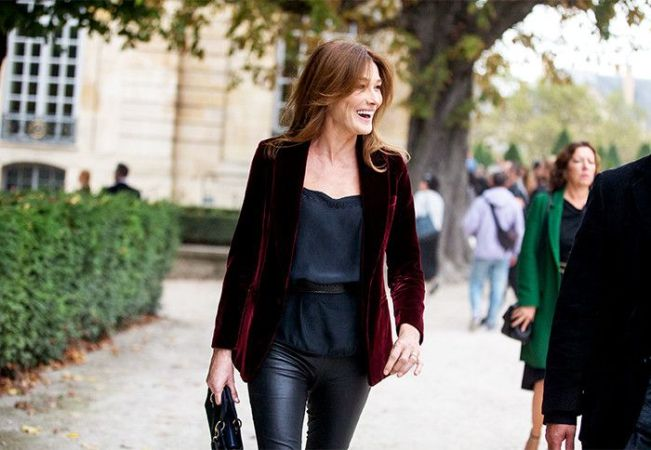 The Most Fashionable Over 40 French Women   Who What Wear Pinterest Photo