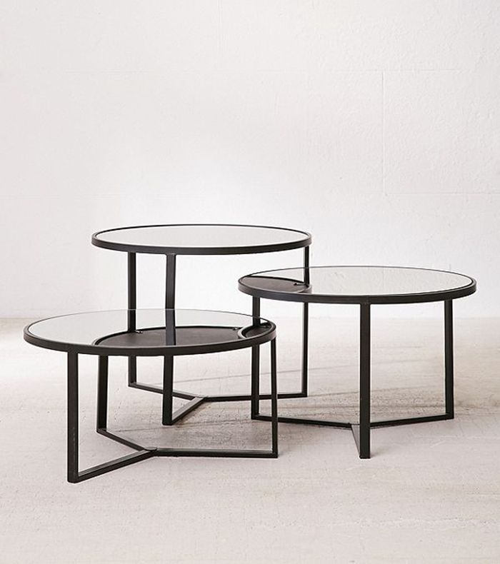 Round Coffee Table Chairs