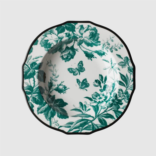 Gucci Herbarium Rim Soup Bowl