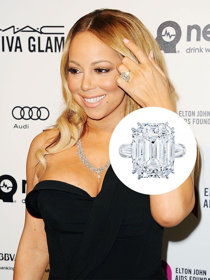 The 25 Most Expensive Celebrity Engagement Rings Who What Wear