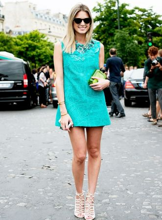 7 Color Combinations To Try With Your Shoes   Dresses   Who What Wear Pinterest Photo
