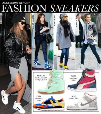 The Sneaker Goes High Fashion In Punchy Prints And Colors   Who What     The Sneaker Goes High Fashion In Punchy Prints And Colors   Who What Wear