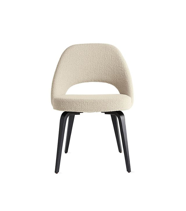Knoll Saarinen Executive Side Chair with Wood Legs