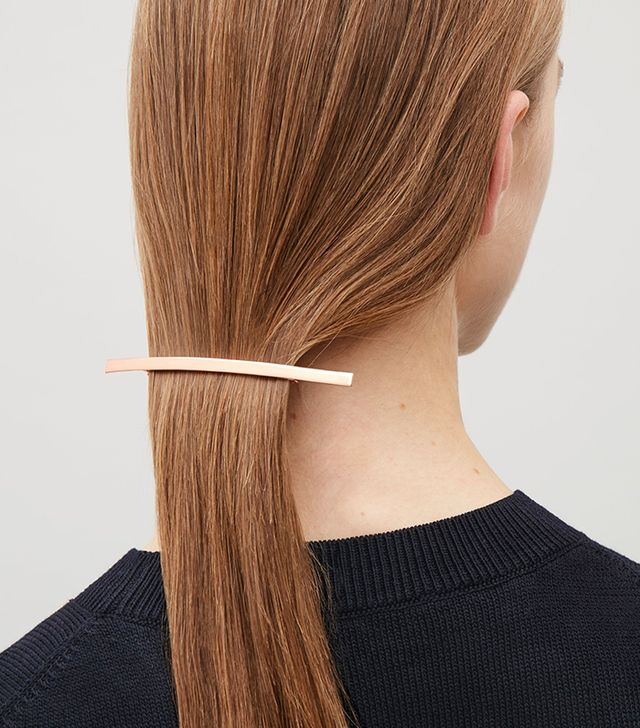 COS Hair Clip in Rose Gold