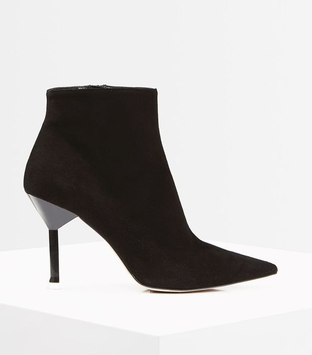 *Premium Suede Ankle Boots