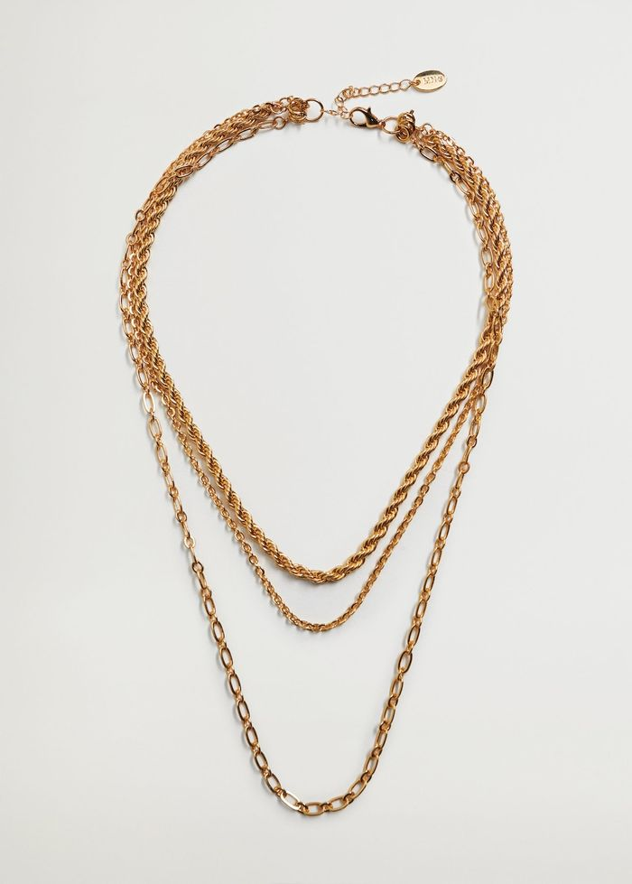 Mango Mixed Chain Necklace