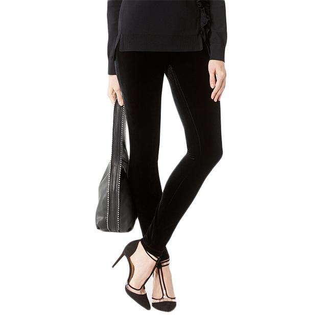 INC International Concepts Velvet Skinny Pants, Created for Macy's